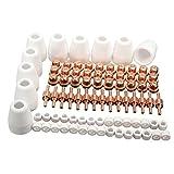 Rokoo 85 piezas / set LG-40 PT-31 aire cortador de corte de plasma Consumibles para CUT-50D CUT50 CT-312