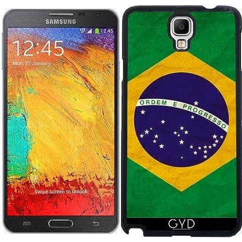 Hülle für Samsung Galaxy Note 3 Neo/Lite (N7505) - Brasilien Rio Flagge Brasilianisches by WonderfulDreamPicture