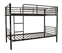 Multi-functional Metal Frame Bunk Bed or Two Single Bed Frames - Available in 5 Colours - Free Delivery