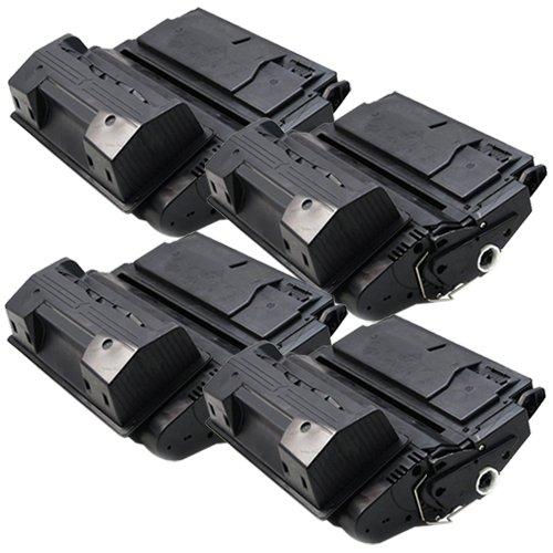 4x Laser-Toner XXL Schwarz kompatibel zu HP Q1339A 4300 4300DTN 4300DTNS 4300DTNSL 4300N 4300TN PlatinumSerie 4300tn Laser