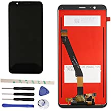 "Draxlgon Completo Di Riparazione e Sostituzione LCD Display Touch Screen Digitizer Assemblea per Huawei P Smart FIG-LX1 FIG-L21 5.65"" (black)"