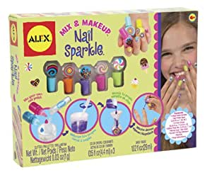 Alex toys various mix and make up nail sparkle kit amazon for Alex co amazon