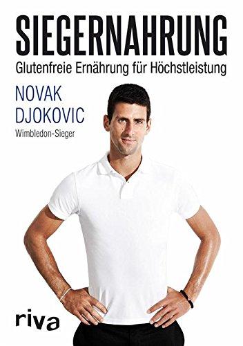 Buchseite und Rezensionen zu 'Siegernahrung: Glutenfreie Ernährung für Höchstleistung' von Novak Djokovic