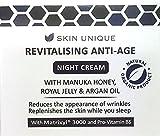 Revitalisierende Anti-Age-Nachtcreme 50 ml - Natürliche & Organische Anti-Aging-Formel -