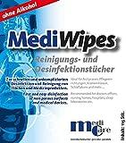 CPAP Reinigungstücher MediWipes Spenderbox mit 115 Tüchern