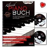 HHH1020 4026929917140 - Libro classico per pianoforte, con 2 CD e clip a forma di cuore
