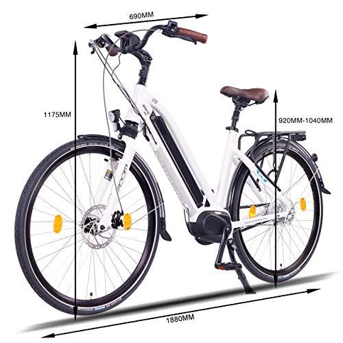 NCM Milano E-Bike Trekking Rad 250W 48V Bild 3*