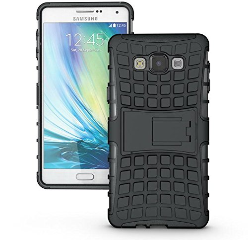 SWAN Flip Kick Stand Spider Hard Dual Rugged Armor Hybrid Bumper Back Case Cover for Samsung Galaxy A7 - With Hybrid Kickstand  available at amazon for Rs.150