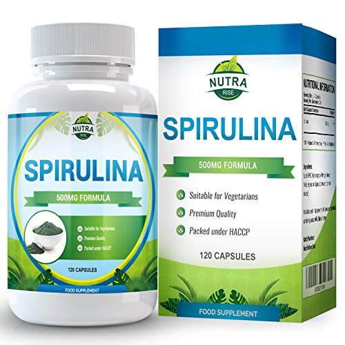 Spirulina-Extract-Maximum-Strength-Supplement-that-Boosts-the-Immune-System-Lowers-Blood-Pressure-Reduces-Cholesterol-and-Boosts-Energy-Made-in-the-UK-500mg-120-Capsules