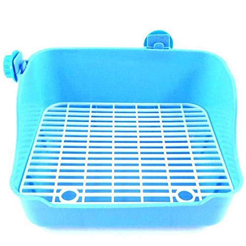 WYYAF Katze Katzenklo Kätzchen, Haustier Toilette Kaninchen Meerschweinchen Chinchillas Toilettenreiniger Buckle Design-Kleintierzubehör Pet Supplies