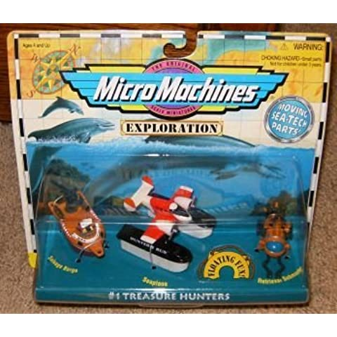Micro Machines Exploration Treasure Hunters #1 Collection by Galoob MicroMachines