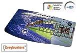 Greybusters® Mulit Media Design Tastatur / Keyboard - QWERTZ - Hertha BSC