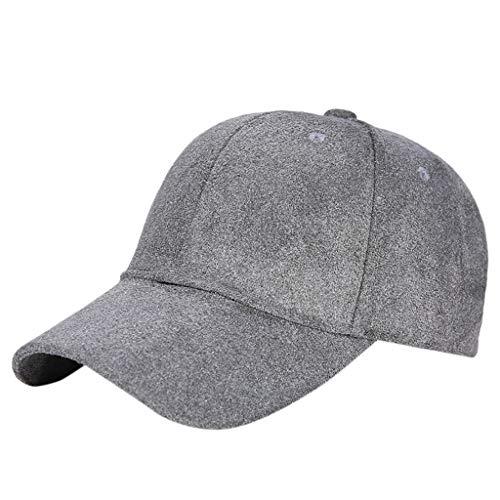 Poachers Hut,BaseballmüTze Mit Klassisch Verstellbarem Fastner Jungen Herren & Damen Winter Wildleder Hut