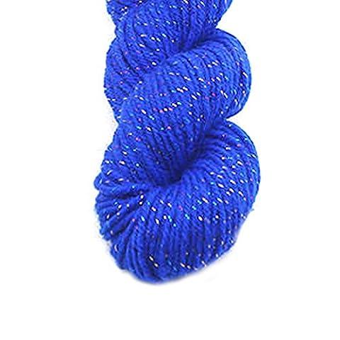 Luxe acrylique de laine à tricoter Fils à Écharpe main