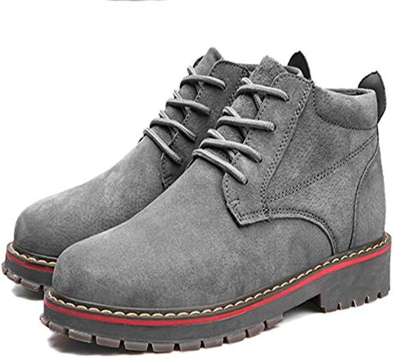 FMWLST stivali Stivali da Uomo Martin Stivali per Adulti Inverno Inverno Inverno Casual Walking Moda Scarpe Stivaletti, 47 | Consegna veloce  12fc15