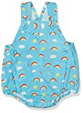 United Colors of Benetton Dungaree, Petos para Bebés, Azul (Blue Multi), 6-9 Meses (Talla del Fabricante: 68)