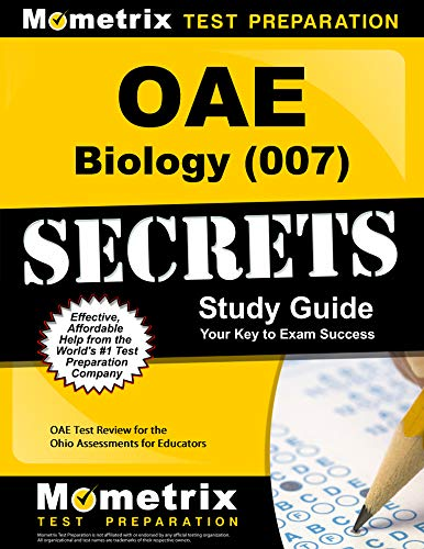 OAE Biology (007) Secrets Study Guide: OAE Test Review for the Ohio Assessments for Educators (English Edition) - Guide Oae-study