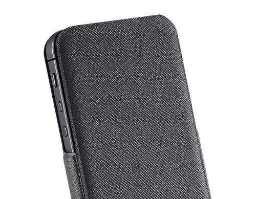 Puro 005384 Flip Case - Flip - Apple iPhone 5/5S/5SE - Schwarz Schwarz