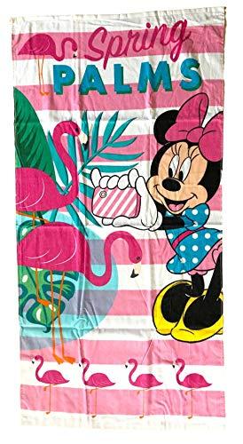 Minnie Drap de Plage Serviette de Bain Mickey Disney