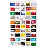 Lumaland Fotovorhang Collage für Bilder und Fotos verschiedene Größen 50 Taschen