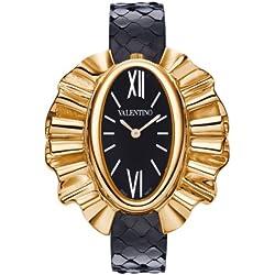 Valentino V45SBQ3009S009 - Reloj de cuarzo para mujeres, color negro