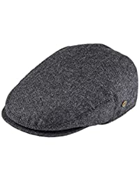 VOBOOM Men s Herringbone Flat Ivy Newsboy Hat Wool Blend Gatsby Cabbie Cap 6383b212f73c