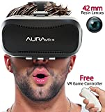 AuraVR Pro VR Headset with Remote Contro...