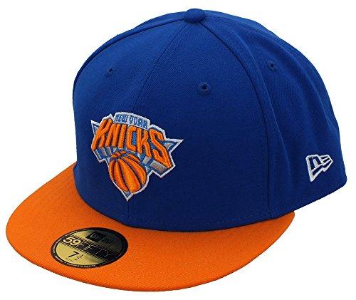 New Era New York Knicks Basecap Nba Basic Royal / Orange - 7 7/8 - 63cm
