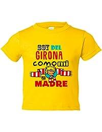Camiseta niño soy del Girona como mi madre Jorge Crespo Cano