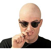 Calotta Effetto Calvo in Lattice Modello Kojak - Bald Head Costume