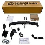 Westfalia Starre Anhängerkupplung für Sorento (BJ 10/12-02/15) im Set mit 13-poligem fahrzeugspezifischen Elektrosatz