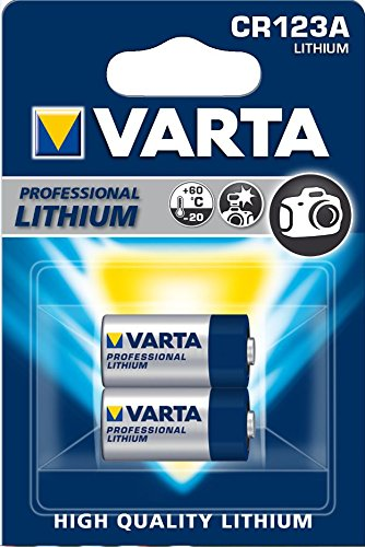 Varta  CR123A Photo Camera Lithium Battery 3V - 2 pack