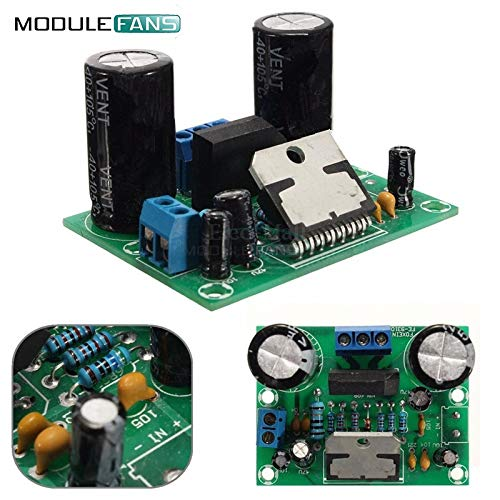 TDA7293 Digital Audio Amplifier Board Mono ein einziger Kanal AC 12V-50V 100W Modul 4-8 Ohm LautSprecher 100K Ohm 20Hz-20KHz