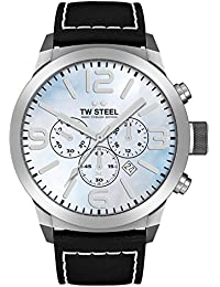 TW Steel Marc Coblen Edition Chrono mit Lederband 42 MM Blue MOP/Black TWMC13