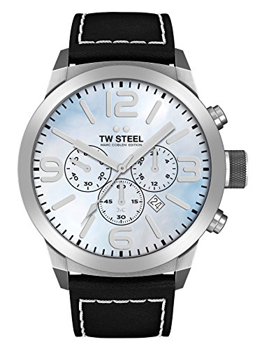 TW Steel Marc Coblen Edition Chrono con cinta de piel 42 mm Blue MOP/Black twmc13