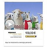 Cheque Regalo de Amazon.es - E-mail - Llamas de Navidad (animación)