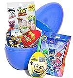 Überraschungsei mit Spielzeug von König der Löwen, PJ Masks, Minions, PAW Patrol und Angry Birds