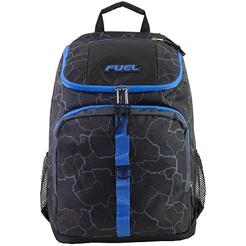 Imagen de fuel  de cargador superior con compartimiento para portátil,  de senderismo,  deportiva,  escolar,  de viaje  azul eléctrico alternativa
