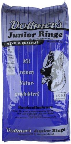 Vollmer's Hundefutter Junior Ringe, 15 kg - 2
