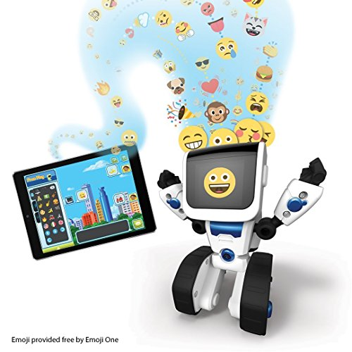 51Q3156UjoL - Wow Wee- Robot Inteligente Programable, Color Blanco, S (WowWee 0802)
