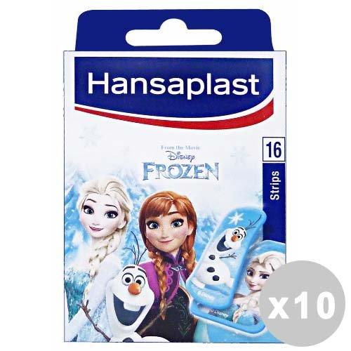 HANSAPLAST Set 10 Patches gefroren * 16 Stück. - Bandagen und Mullbinden