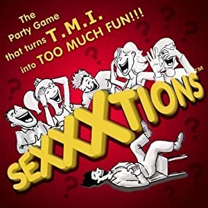 SEXXXtions - The Hilarious NEW Adult Party Game that turns TMI into Too Much Fun!