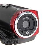 "Red HD 720P 16MP Digital Video Camcorder Camera DV DVR 2.7"" TFT LCD 16X Digital Zoom 10.8*5.3*6.1cm"