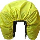 Yellow Parapioggia Impermeabile Copertura Antipioggia per Bicicletta Nylon Impermeabile Bicicletta Commuter Bag Rain Cover