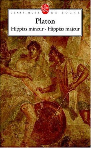 Hippias majeur Hippias mineur par Platon