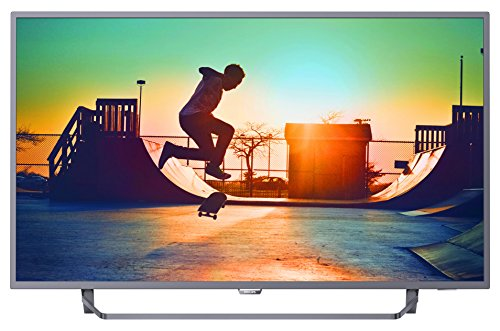 Philips 55PUS6262/05 55-Inch 4K Ultra HD Smart TV with Ambilight 2-sided, HDR Plus, Freeview Play - Dark silver (2017 Model)