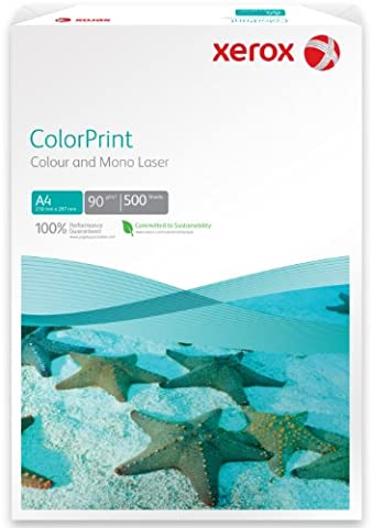 Xerox ColorPrint A4 (210×297 mm) White inkjet paper - printing paper (A4 (210×297 mm), Laser printing, White, ECF)