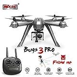 Zantec Drone RC MJX Bugs 3 Pro B3 Pro RC Drone con 1080P Wifi FPV Fotocamera GPS Follow Me Mode Brushless RC Helicopter Quadcopter VS Bugs 5W 2 batteria