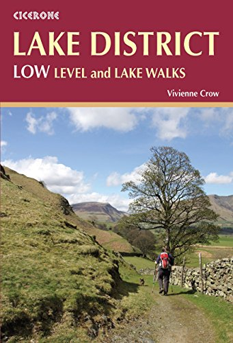 Lake District: Low Level and Lake Walks (British Walking) by Vivienne Crow (15-Sep-2014) Paperback