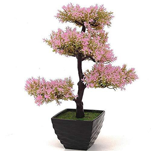 LWBAN-Flower Dekorative Blumen Dekorative künstliche Bäume mit Blüten, 18, 1